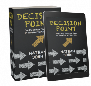 Decision Point cover for book and ebook